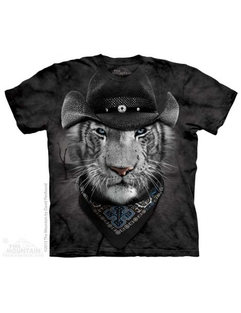 Cowboy White Tiger - T-shirt -The Mountain