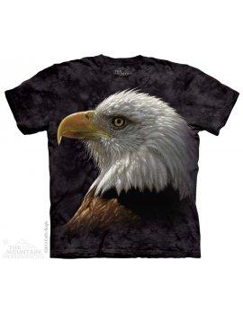 Bald Eagle Portrait - Tee-shirt - The Mountain