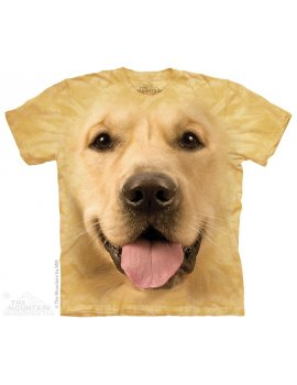 Big Face Golden - Tshirt chien - The Mountain