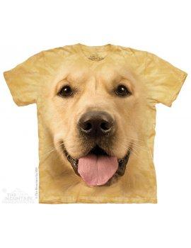 T-shirt THE MOUNTAIN - Big Face Golden