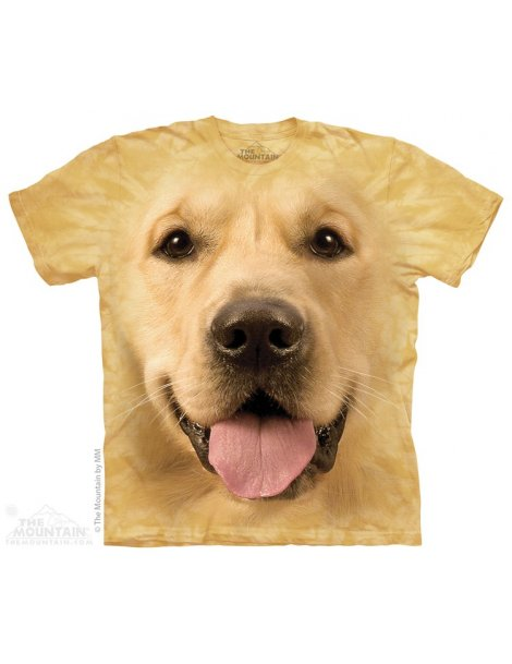 T-shirt chien Labrador Golden Retriever