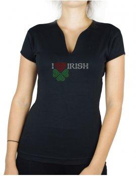 I love Irish - Femme Col V