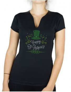 Happy St Patrick - Woman V-neck