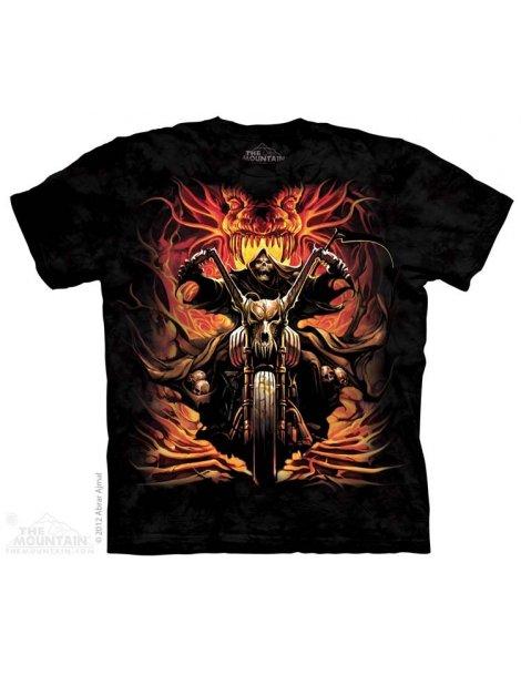 Grim Rider -Tee-shirt bikers - The Mountain