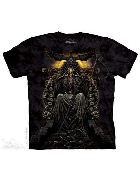 Death Throne - T-shirt gothique - The Muntain
