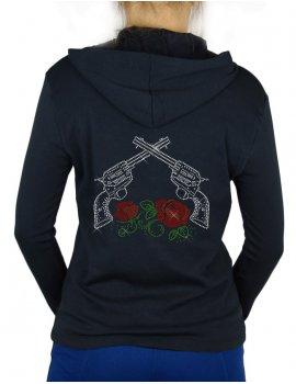 Pistols and Roses-Vest