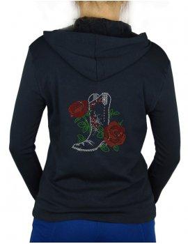 Bottes et roses-Gilet