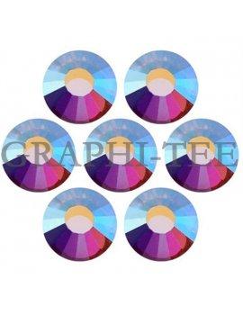 Hotfix rhinestone Mcut Crystal AB color
