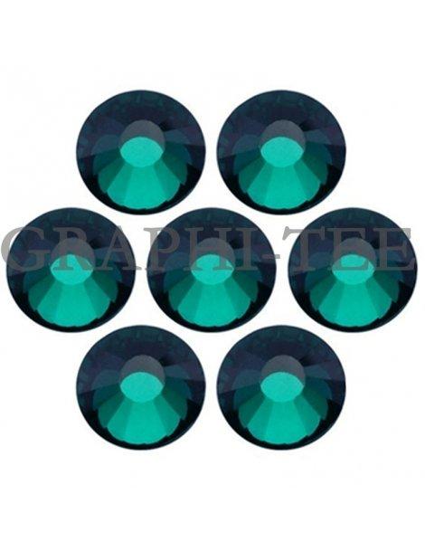 Hotfix rhinestone MCut Emerald