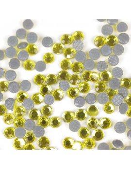 yellow rhinestone