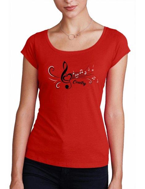 T-shirt COL BATEAU CLE DE SOL