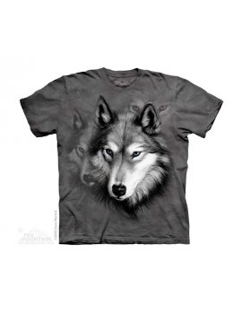 Wolf Portrait - T-shirt enfant portrait de loup - The Mountain