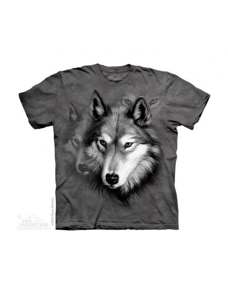 Wolf Portrait - T-shirt enfant portrait de loup - The Mountain