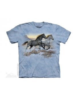 Running Free - T-shirt cheval enfant -The Mountain