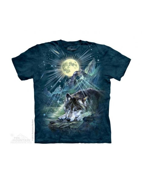 Wolf Night Symphony - T-shirt enfant loup - The Mountain