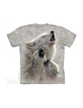 Singing Lessons - T-shirt enfant louve et ses petits - The Mountain