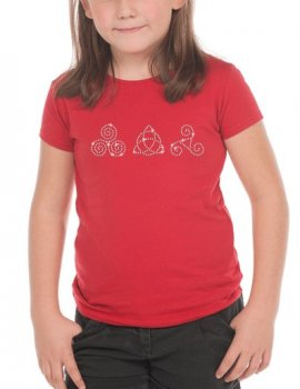Trilogie Celtic - T-shirt Fillette