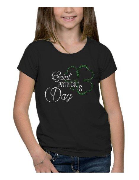 St Patrick Day - fillette