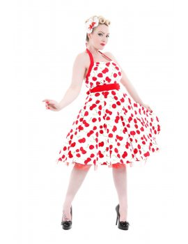 Robe - White Bombshell Cherry Swing