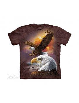 Eagle & Clouds - Tee-shirt aigles enfant - The Mountain
