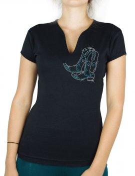 Dancing Boots - T-shirt femme Col V