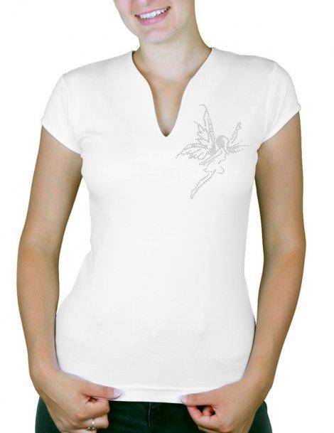 Envol de Fée - T-shirt femme Col V