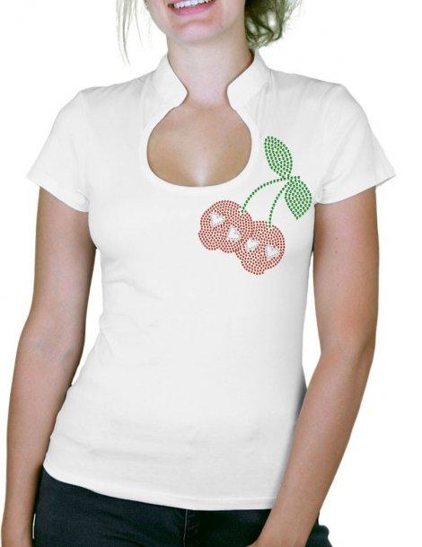 Cherries Skull - Women's Col Omega T-shirt
