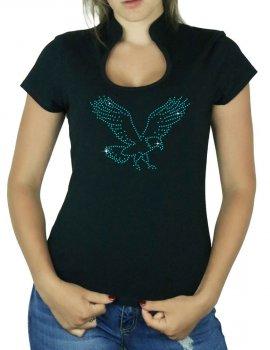 Aigle - T-shirt femme Col Omega