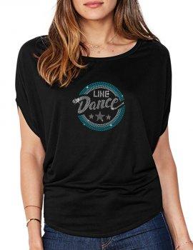 Macaron Line Dance - Bat Sleeves Women's T-Shirt