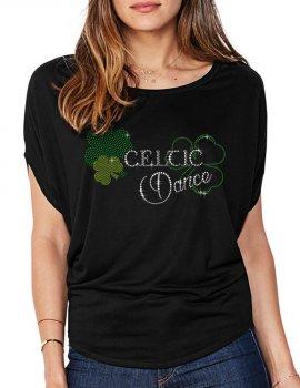 Celtic Dance - Women's T-shirt Bat Sleeves