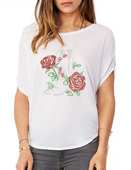 Botte & Roses - T-shirt femme Manches Chauve Souris