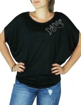 Dance Women's T-shirt Bat Sleeves