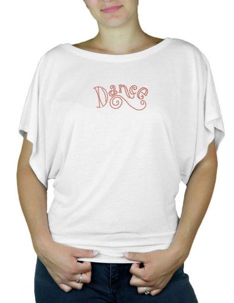 Dance - T-shirt femme Manches Papillon