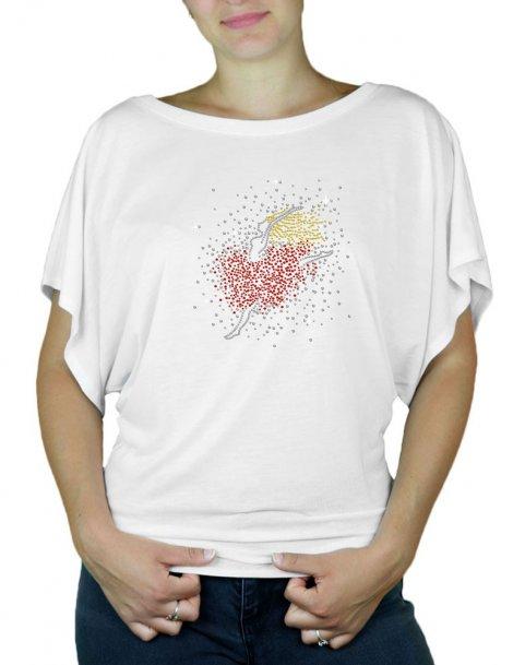 Petite Danseuse - T-shirt femme Manches Papillon