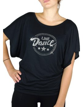 De Shirts Line Country Vêtements T Strass Vente Dance Danse p6vqgwxaq