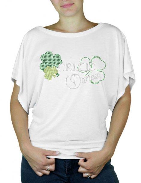 Celtic Dance - T-shirt femme Manches Papillon