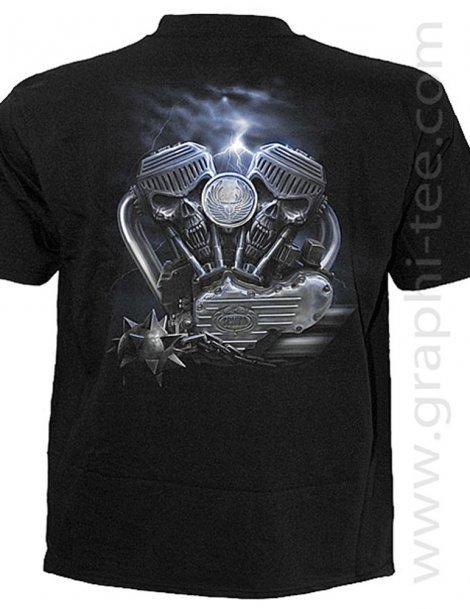 Tee-shirt biker