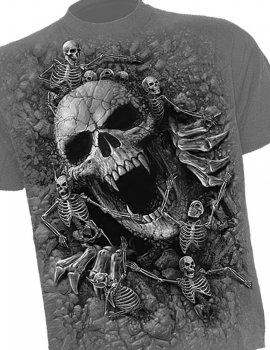 Skulls Cove - Tee-shirt gothique