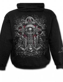 In Goth We Trust - Sweat Capuche gothique - Spiral