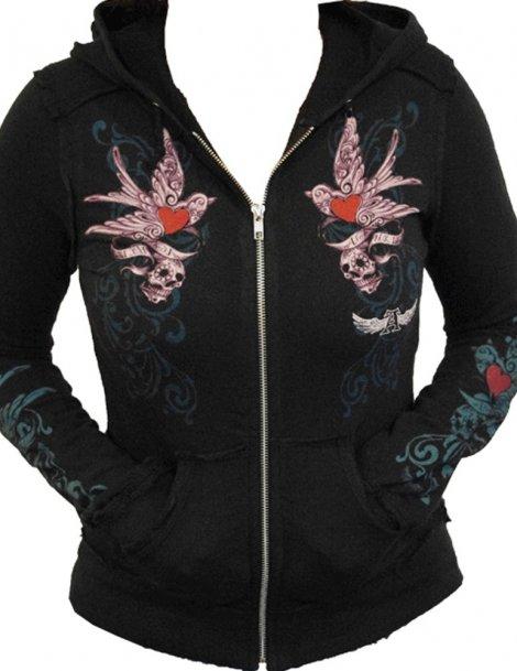 sweat-shirt gothique