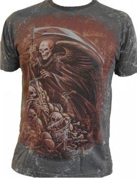 Mors Certa - Tee-shirt gothique Homme - Alchemy