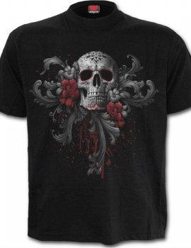 Skull Roses - Tee-shirt gothique Homme