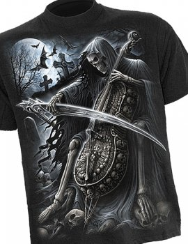 Symphony of Death - Tee-shirt gothique