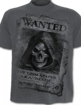 Wanted- Tee-shirt gothique - Spiral