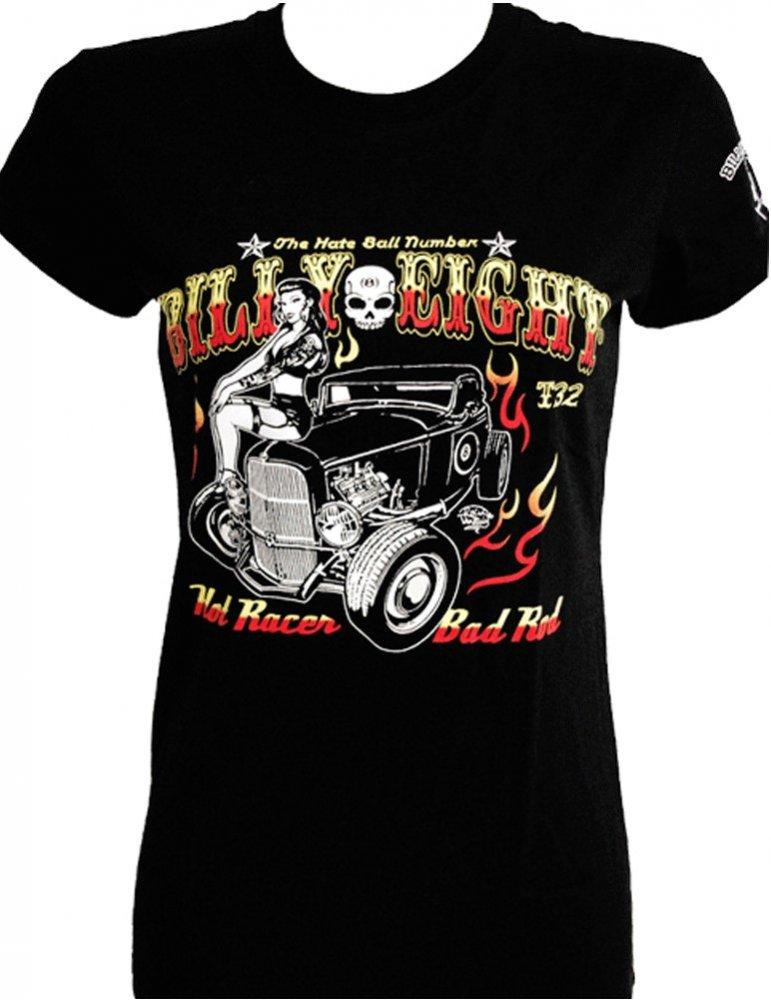 Billy Eight Tee shirt Femme