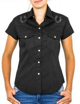 Gallopping Horse - Lady short sleeves shirt