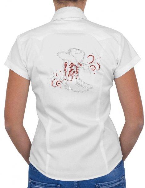 Bottes & Arabesques - Chemise Femme Manches Courtes