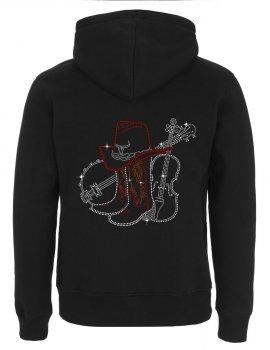 Grand Banjo & Violon -Men's Hooded Jacket