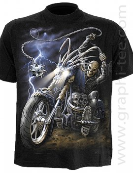 Ride To Hell - Tee-shirt gothique