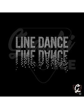 Line dance miroir
